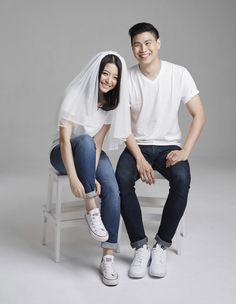 Untitled Pre Wedding Shoot Ideas, Pre Wedding Poses, Pre Wedding Photoshoot, Korean Wedding Photography, Couple Photography Poses, Prenuptial Photoshoot, Photo Portrait, Wedding Photo Inspiration, Couple Posing