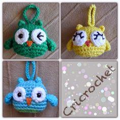 Crotchet Animals, Crochet Owls, Crochet Amigurumi, Crochet Gifts, Amigurumi Patterns, Free Crochet, Knit Crochet, Crochet Patterns, Yarn Crafts