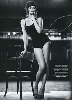 Gemma Arterton (InStyle)