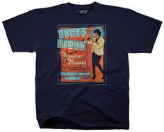 Tshirt:Soul-James Brown And His Famous Flames