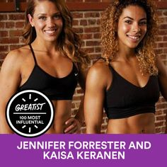 """My photo of TwoBadBodies Jennifer & Kaisa was published in the 2015 edition of Greatist's """"Most Influential People in Health and Fitness"""""""