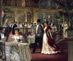 Paintings by Alan Maley | Alan Maley - A Festive Occasion