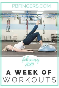 I'm back today with February's edition of my Week of Workouts series! At the beginning of the year, I had a few requests to resurrect this series I initially began on the blog back in 2018 and, as of last month, we're back in action. I am using these monthly posts to give you guys a glimpse into what a full week of fitness looks like over here these days.