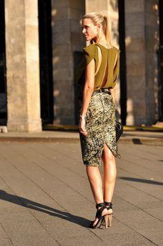 Berlin Fashion Week Street Style #streetstyle #streetfashion #style #fashion #berlin