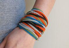 Cotton Jersey Bracelet or Necklace