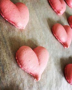 Coeur en macarons pour la St Valentin !