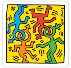 Keith Haring Nyc Pride Print on canvas, print on high quality paper, print on wo. Keith Haring Nyc Pride Print on canvas, print on high quality paper, print on wo. Norman Rockwell, Keith Haring Art, Keith Haring Poster, Keith Haring Prints, Pop Art, Queer Art, Love Posters, Principles Of Art, Canvas Prints