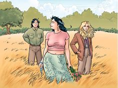Strangers in Paradise by Terry Moore. Francine is basically my hero.