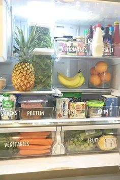 10 Refrigerator-Organization Hacks to Keep Your Kitchen as Clean as Can Be - Refrigerator - Trending Refrigerator for sales. - 10 Refrigerator-Organization Hacks to Keep Your Kitchen as Clean as Can Be Refrigerator Organization, Kitchen Organization Pantry, Home Organisation, Kitchen Pantry, Kitchen Hacks, Kitchen Storage, Kitchen Decor, Organization Ideas, Organize Fridge