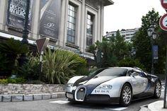 Dallas Cowboys Inspired Bugatti W16., via Flickr.