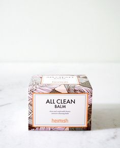 Double cleansing must-have Natural, Paraben-Free and Hypoallergenic! Ideal for all skin types, especially those with sensitive skin. Heimish All Clean Balm goes on as a solid balm, transforms into a s