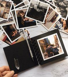 Mini Photo album Friends album scrapbook Polaroid photo album Personalized album for your memories Birthday Love story Album Photo Polaroid, Diy Album Photo, Mini Albums Photo, Travel Photo Album, Mini Polaroid, Custom Photo Albums, Family Photo Album, Friend Scrapbook, Baby Scrapbook