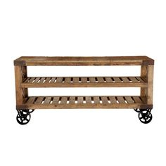 Wisteria - Furniture - Shop by Category - Consoles & Buffets - Recycled Pine Console Thumbnail 2