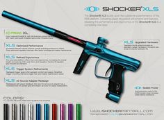 Shocker Paintball announces the Shocker XLS. It's was a great marker before and now they have gone over every detail and made it even better :) #shockerpaintball #shockerxls #xls #paintball #freerewards #pricematch #weship #canada #tactical #tacticalsports