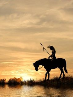 A Blackfoot Legend of How a Piegan Warrior Found the First Horses. #GeorgeTupak