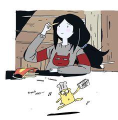 Adventure Time Girls, Adventure Time Anime, Cartoon Shows, Cartoon Art, Character Art, Character Design, Marceline And Princess Bubblegum, Adventure Time Wallpaper, Arte Sketchbook