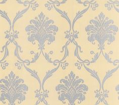 Elaborate Silver Gray Damask on Gold by WallpaperYourWorld on Etsy