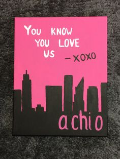 Custom Sorority Canvas - Alpha Chi Omega by CuteCanvasShop on Etsy Super affordable prices for really cute canvases! Making a note for big little gifts :)