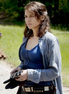"The Walking Dead Season 6 Episode 1 ""First Time Again"" Maggie Greene"