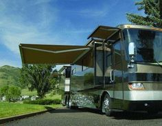 RV Awning Replacement Retractable Patio Motorhome Camper Travel Trailer 10 x 8