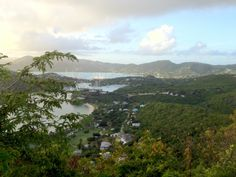 View of falmouth Harbour from Shirley Heights, Antigua