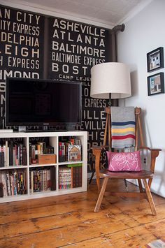 Home of Jason Santa Maria and Megan Born via Design*Sponge My Living Room, Home And Living, Living Spaces, Home Office, Interior Design Inspiration, Design Ideas, Apartment Design, Office Interiors, Boy Room