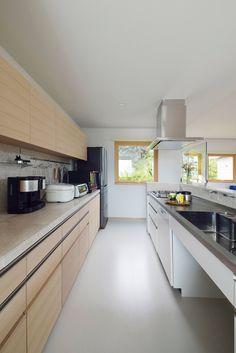 Home Decoration Modern Islands 61 Best Ideas Living Furniture, Home Office Furniture, Home Office Decor, Home Decor, Japanese Modern House, Japanese Kitchen, Japanese Style, Kitchen Cabinet Styles, Kitchen Cabinets
