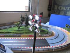 Home built flood lights for my Scaley track - Slot Car Illustrated Forum