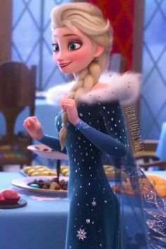 Elsa from Olaf's Frozen Adventure