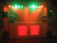 Bruiloft Drive-in show inclusief extra movingheads. Locatie: Twee Gebroeders te Etten-Leur