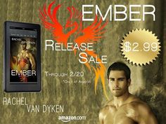 EMBER by Rachel Van Dyken is NOW LIVE on Amazon and on SALE  Amazon: http://amzn.to/1AHY84e