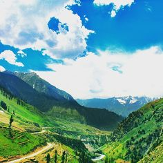 Photo submitted by @aafaque33:  All in one view; Naran #valley, #Karakoram highway, Kunhar #river, #mountains and #glaciers; on the way to Lulusar #Lake near Jalkhad.  You can also submit your photos to us by using #dawndotcom.  #Pakistan #photography #nature #landscape