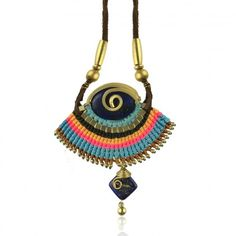 Festival Necklace - Blue