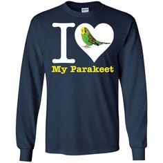 I Love My Parakeet LS Ultra Cotton Tshirt