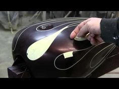 How to Airbrush Ghost flames by James Scott - YouTube