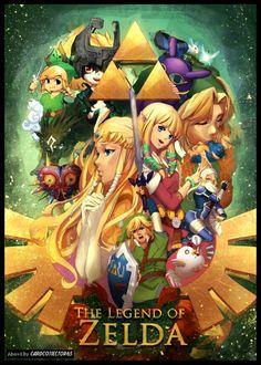 Legend of Zelda - MTG - Sleeves