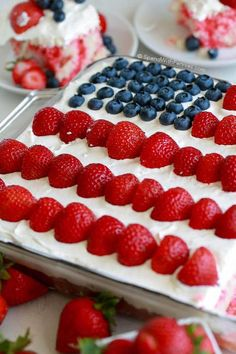 This Flag Cake topped with a no bake cheesecake is the perfect dessert for your 4th of July parties! The recipe comes together easily with your favorite white boxed cake mix (or your favorite homemade white cake) and the addition of a few simple ingredients. The cheesecake topping on this cake will have everyone asking …