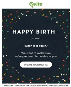 SL Happy Birthday Maybe Great Example Of Building Your Profile Data