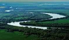 Danube Delta Romania Black Sea aerial Delta Dunarii eastern Europe 04