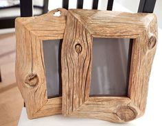 Great idea for picture frames or mini chalk boards.  Could also attach wood to front of plain shelves to dress them up.