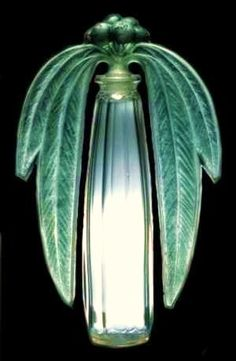 Art Nouveau Palm Tree Scent Bottle by René-Jules Lalique, Paris