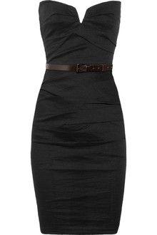 Stunning!  La Petite Salope Strapless Stretch Linenblend Dress - Lyst