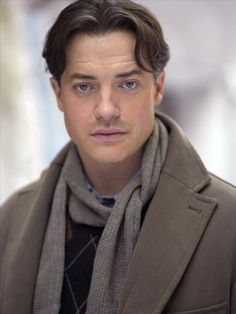 Brendan Fraser: The Mummy, Journey to the Center of the Earth, InkHeart! He's George of the Jungle of Course!! {He introduce me to abs, I don't know how many times I watch the bathroom scene in George of the Jungle}