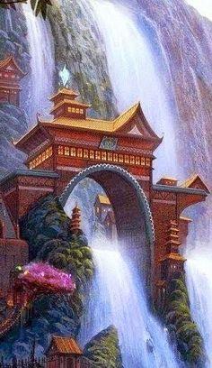 Incredible Waterfall, Taiwan!
