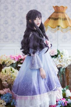 Quirky Fashion, Kawaii Fashion, Lolita Fashion, Girl Fashion, Fashion Outfits, Estilo Lolita, Lolita Cosplay, Cosplay Girls, Cute Kawaii Girl
