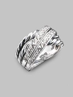 David Yurman Crossover Collection with diamonds.  Another piece I bought for my wife Misty.  Beautiful.