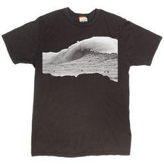 Men's Waimea T-Shirt, Vintage Surf Photos T-Shirt, Sean Davey Photo Shirt at PalmerCash.com