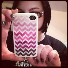 Stitchy iPhone case! by gotthebutton, via Flickr