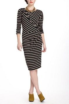 Draped Jersey Dress -- this looks so comfy!