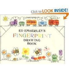 fingerprint drawing book....  can also make them into a string of lights, eggs, etc.
